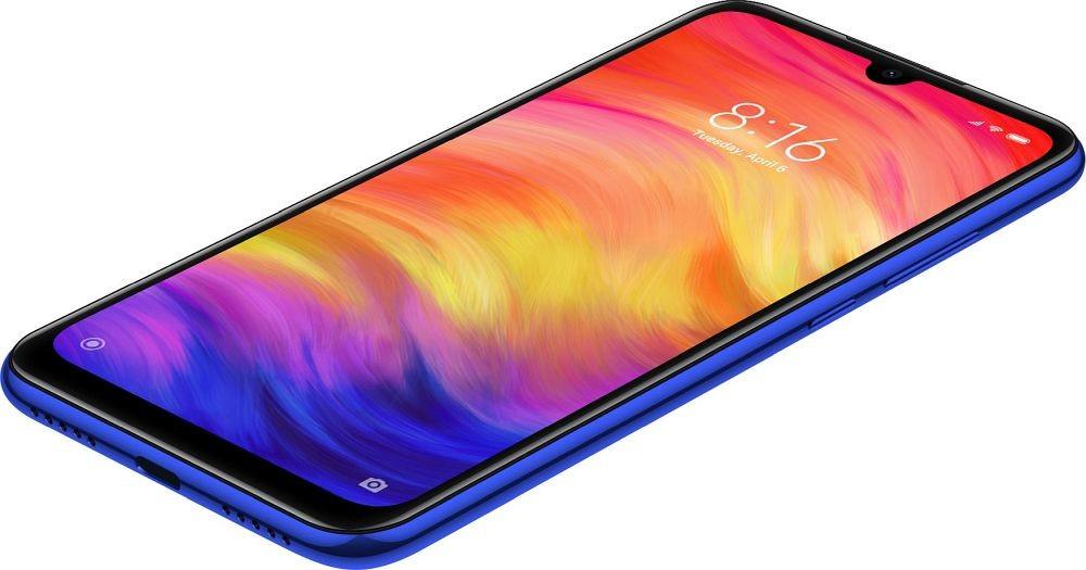 Design telefonu Xiaomi Redmi Note 7