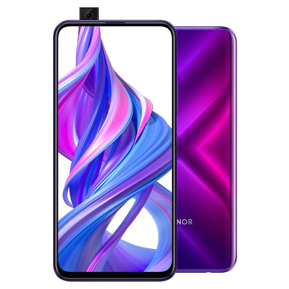Přední strana telefonu Honor 9X Pro