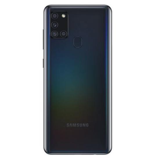 Zadní strana telefonu Samsung Galaxy A21s s 3D efektem