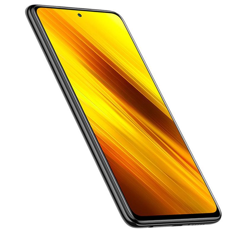 Xiaomi Poco X3 - displej telefonu